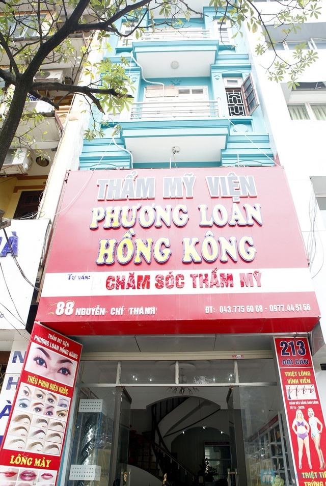 Thẩm mỹ viện Phương Loan Hồng Kông.