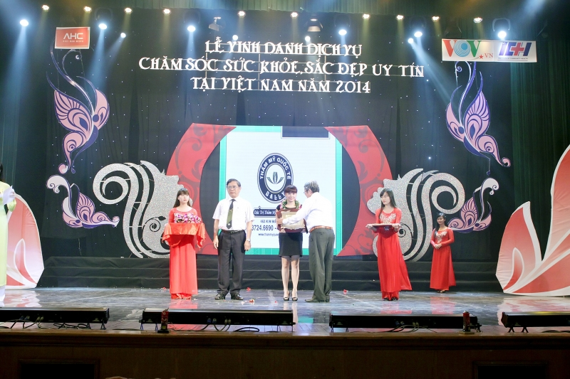 Top 10 thẩm mỹ viện tại Việt Nam năm 2014
