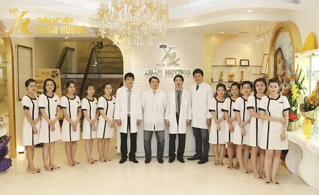 Đội ngũ bs và nhân viên tại TMV Xuân Hương