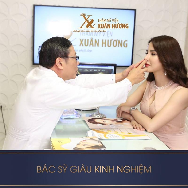 Thẩm mỹ viện Xuân Hương địa chỉ uy tín cho dịch vụ nâng mũi
