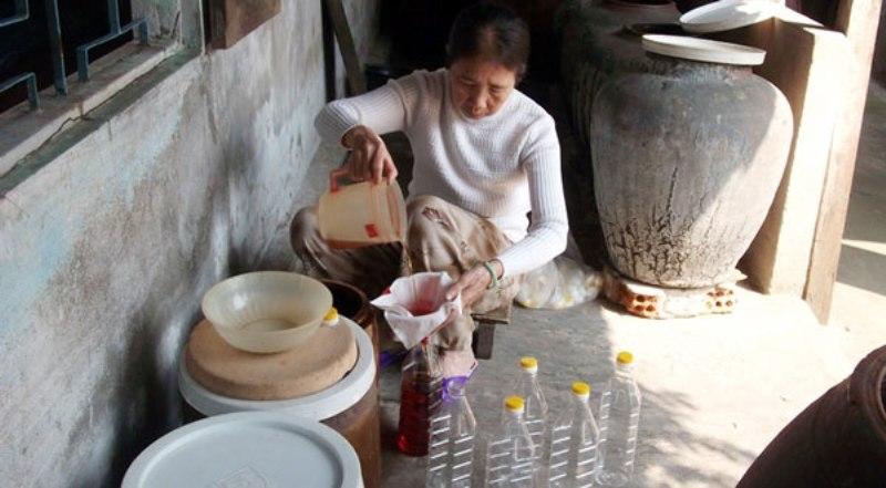 Làng nghề làm mắm