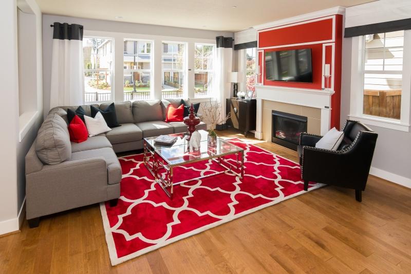 Nên chọn mua thảm trải sàn mới cho những ngày Tết.