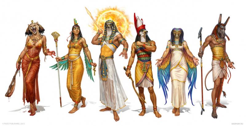 Các vị thần trong Thần thoại Ai Cập