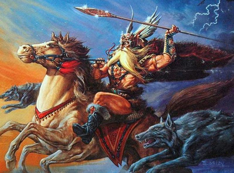 Thần Odin trong Thần thoại Bắc Âu