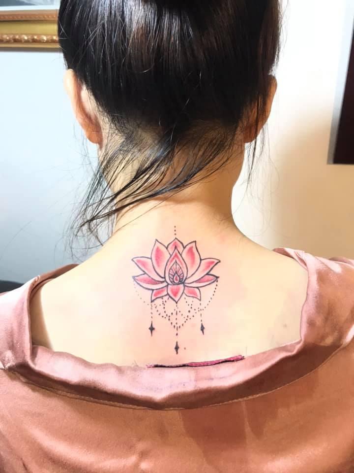 Thắng Din tattoo