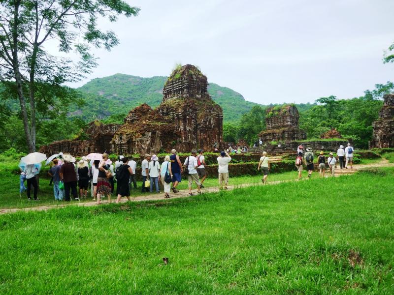 Rất đông khách du lịch tìm đến