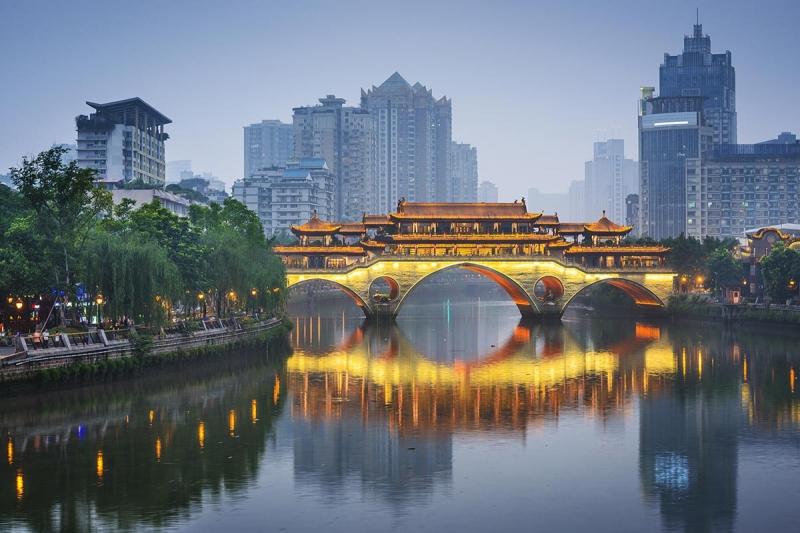 Thành Đô là một thành phố tại tây nam Trung Quốc