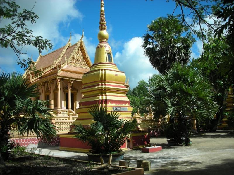 Chùa Kh'leang tại tỉnh Sóc Trăng