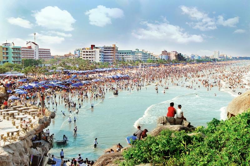 Biển Sầm Sơn - Nơi thu hút khách du lịch đến với Thanh Hóa.