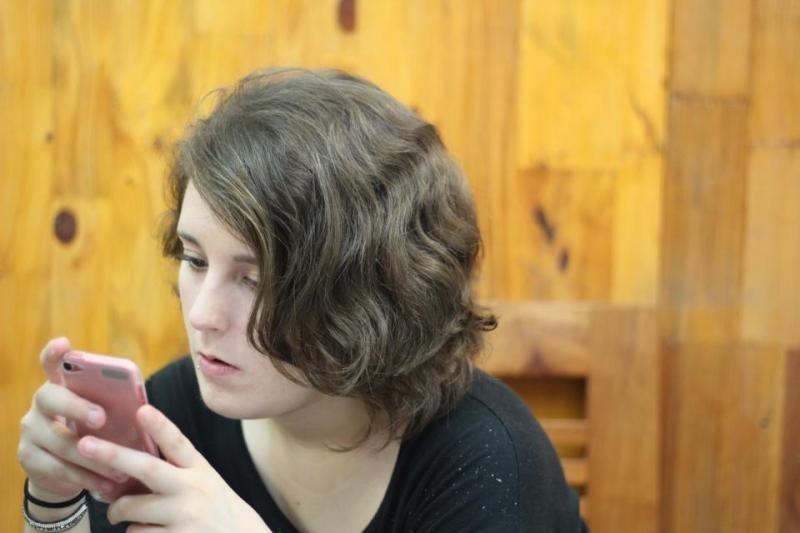 Kiểu tóc được cắt tại tiệm
