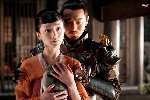 Một phân cảnh của Châu Tấn trong phim Dạ yến