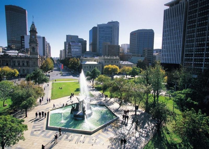 Adelaide được xem là thành phố phát triển du lịch bậc nhất ở Australia