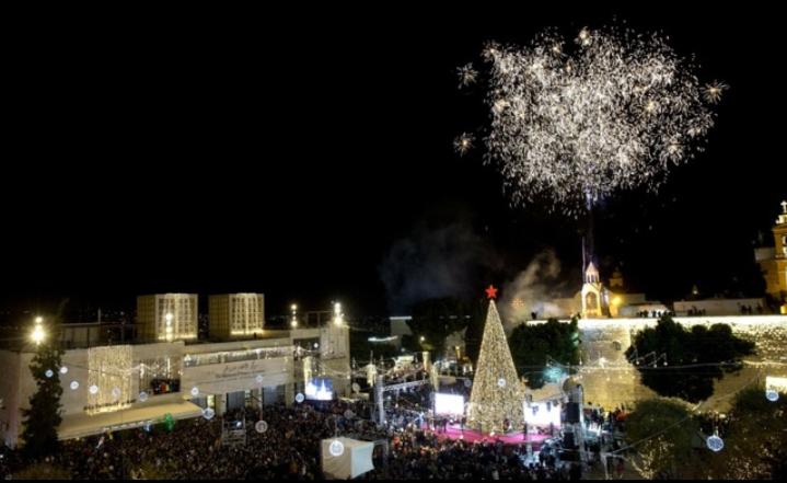 Thành phố Bethlehem đón Giáng sinh