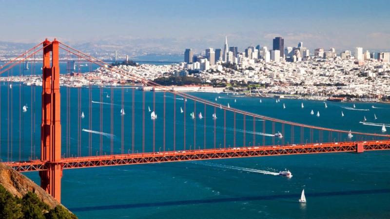 San Francisco là thành phố nằm trên mũi của Bán đảo San Francisco