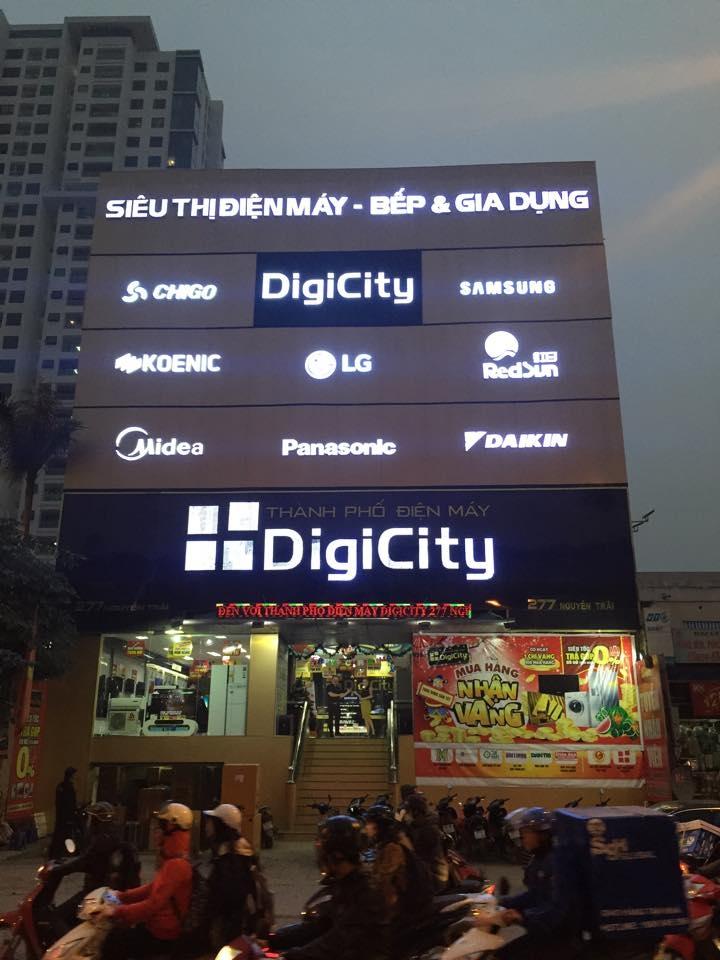 Công ty đã duy trì sự hài lòng, trung thành và gắn bó của khách hàng với DigiCity.