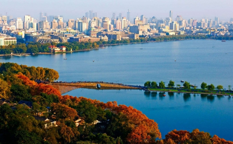 Hàng Châu là một trong những thành phố có thu nhập bình quân (GDP/người) cao nhất tại Trung Quốc