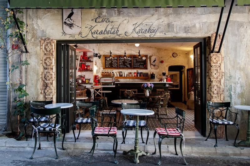 Thành phố Istanbul nổi tiếng với hạt cà phê đen nguyên chất