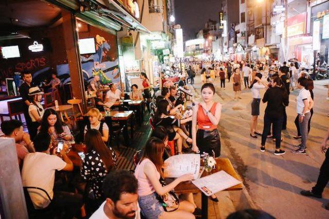 Sài Gòn được mệnh danh là thành phố không ngủ.