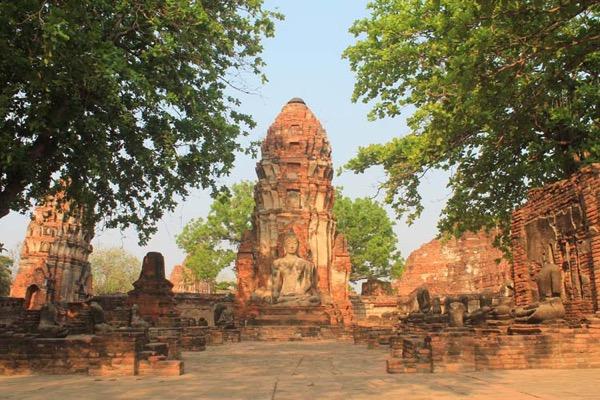 Thành phố lịch sử Ayutthaya còn gọi là thành phố phật giáo