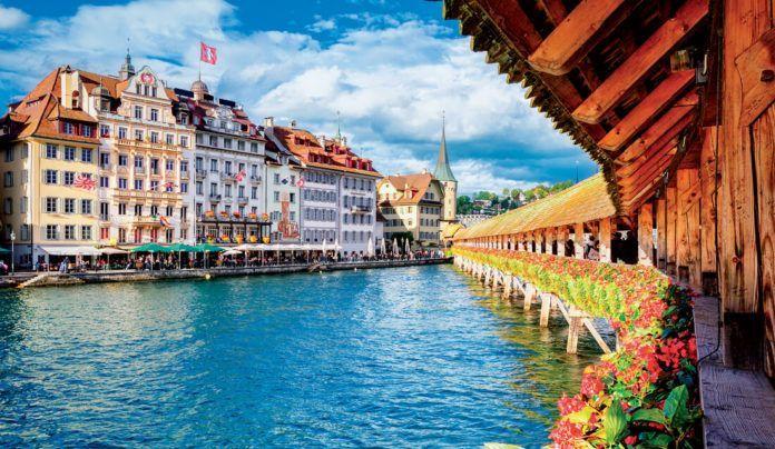 Vẻ đẹp của thành phố Lucerne