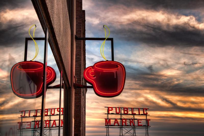 Thành phố Seattle là nơi tiêu thụ cà phê nổi tiếng tại Mỹ