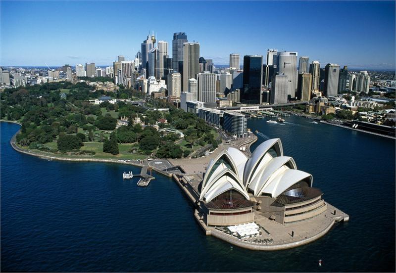 Thành phố Sydney là trung tâm tài chính, thương mại và du lịch nổi tiếng nhất của đất nước Australia