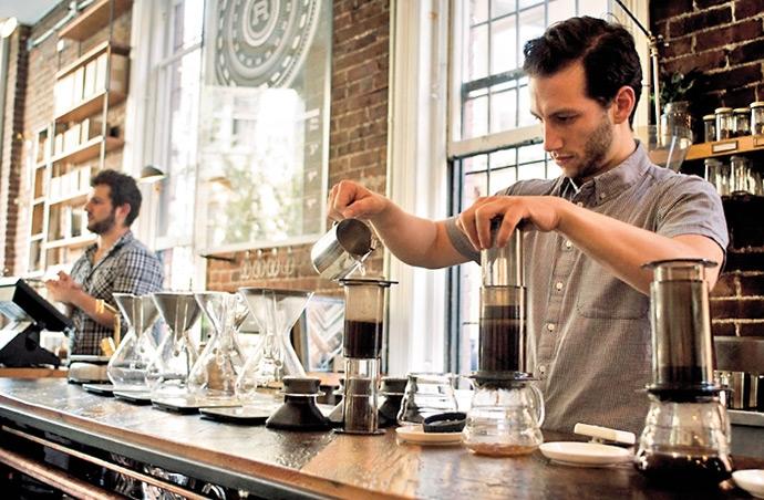 Vancouver là quốc gia của những ly cà phê chất lượng