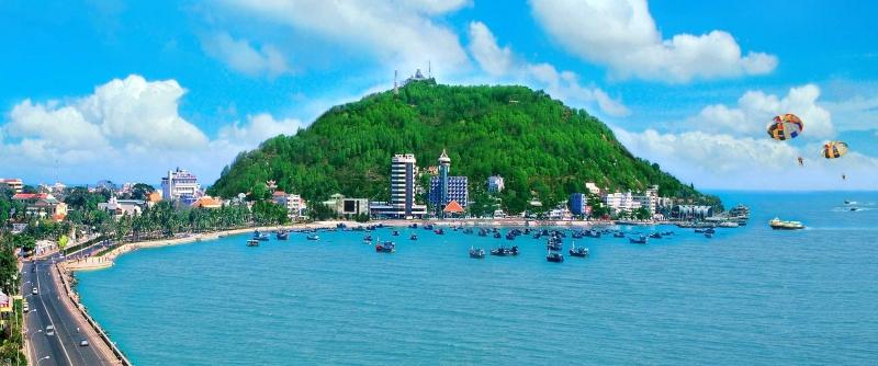 Bãi biển Vũng Tàu xinh đẹp
