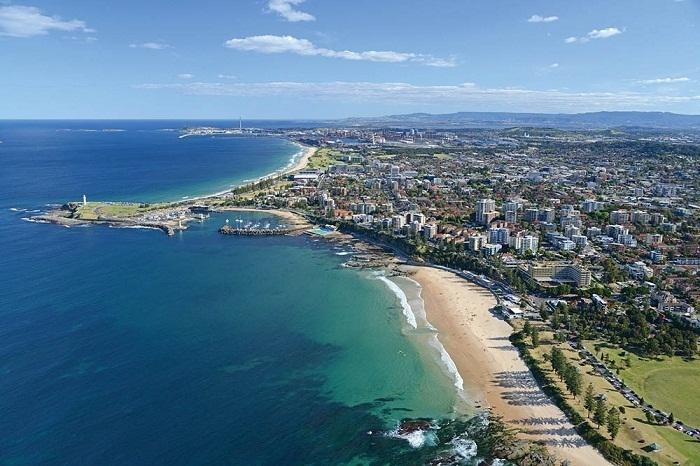 Thành phố Wollongong đứng thứ 10 trong danh sách những thành phố đông dân nhất tại Australia