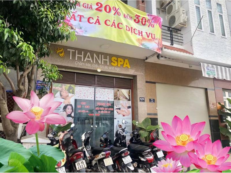 Thanh Spa đa dạng các dịch vụ làm đẹp như: chăm sóc da cơ bản đến chuyên sâu, điều trị những vấn đề về da như mụn, thâm, nám, tàn nhang, sẹo, lăn kim, massage mỡ bụng, tắm trắng body,...