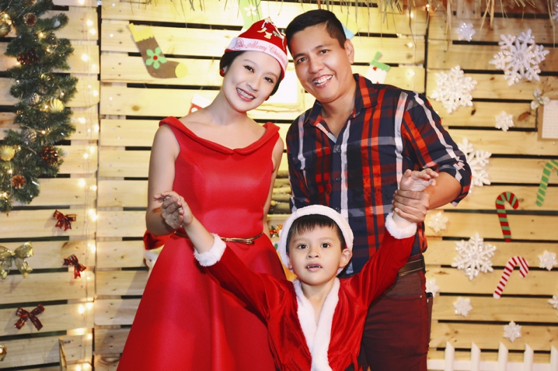 Gia đình đạo diễn Đức Thịnh, diễn viên Thanh Thuý