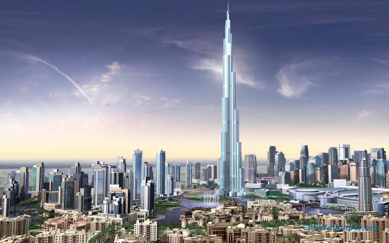 Tháp Burj Khalifa, Dubai