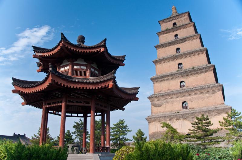Tháp Đại Nhạn - một trong những kiệt tác của Trung Quốc