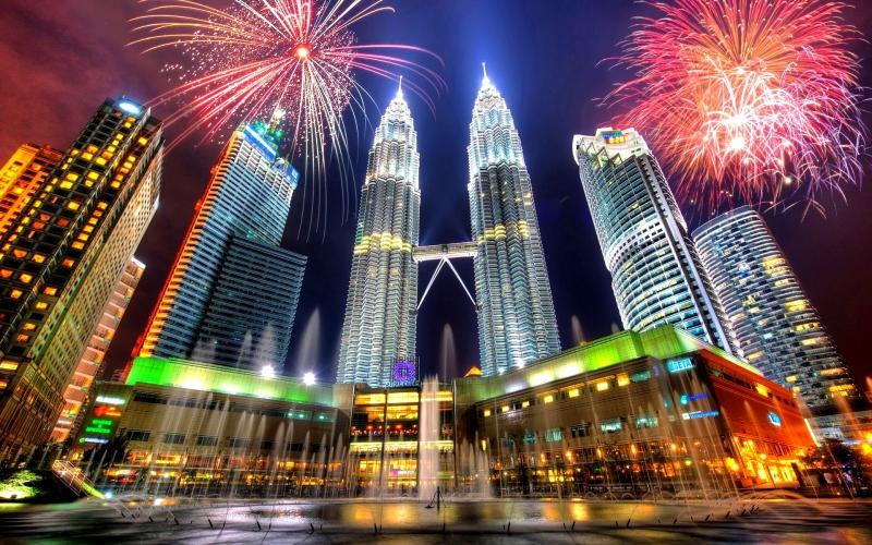 Tháp đôi Petronas, Kuala Lumpur, Malaysia