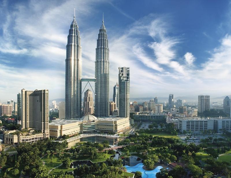 Tháp đôi Petronas- Malaysia.