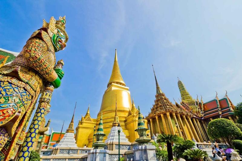 Tháp Elephant ở Bankok, Thái Lan