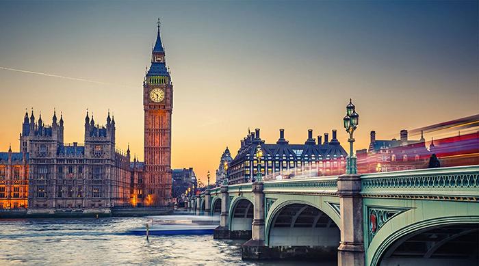 Top 10 địa danh nổi tiếng nhất ở thành phố Luân Đôn nước Anh