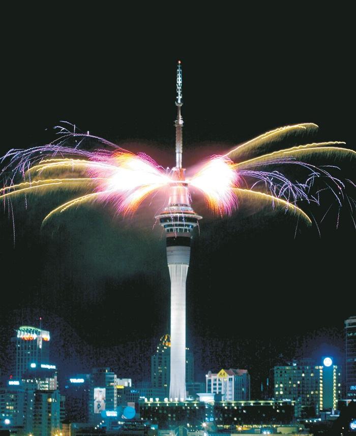 Tòa tháp Sky Tower là điểm đến check in tuyệt vời dành cho bạn