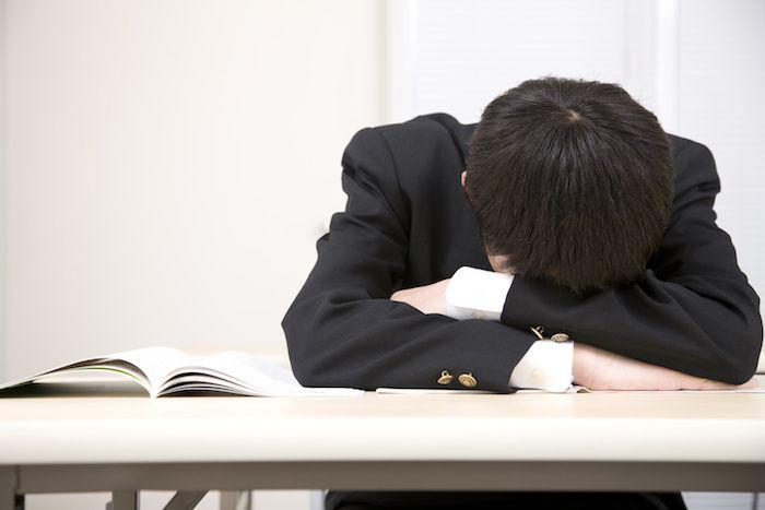 Thầy cô cảm thông cho học sinh ngủ gục