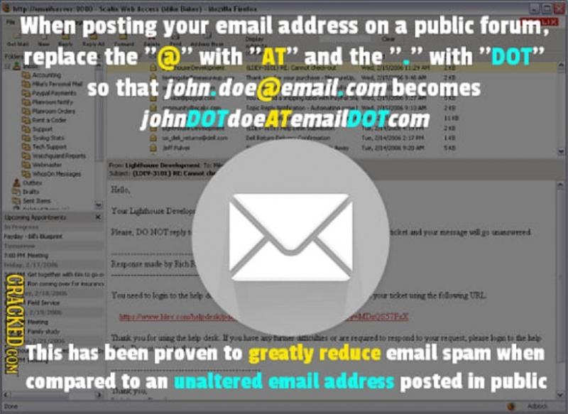 Bằng cách thay đổi phương pháp viết email thông thường, bạn có thể tránh được rất nhiều email spam