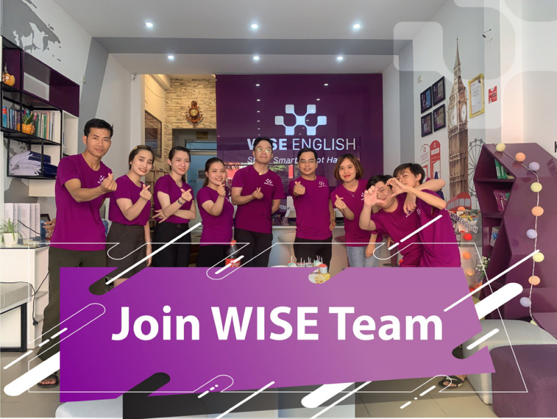 Team Wise English của thầy