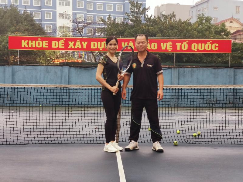 Thầy Hoàng Tú – Trung tâm dạy tennis Hà Nội