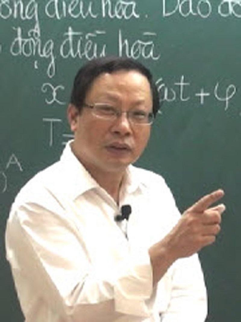 Giáo viên luyện thi Vật lý nổi tiếng-Thầy Nguyễn Hoàng Kim