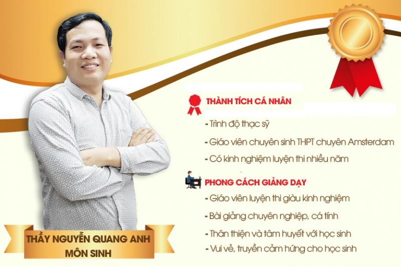 Thầy Nguyễn Quang Anh