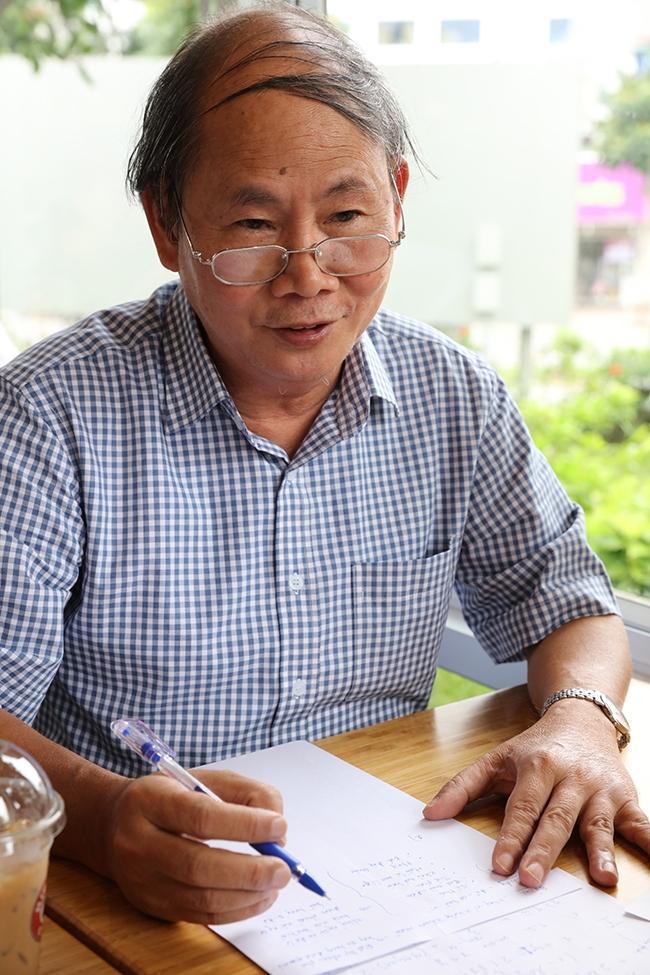Thầy Nguyễn Vũ Lương –  hiệu trưởng trường Chuyên Khoa học tự nhiên, ĐHQGHN