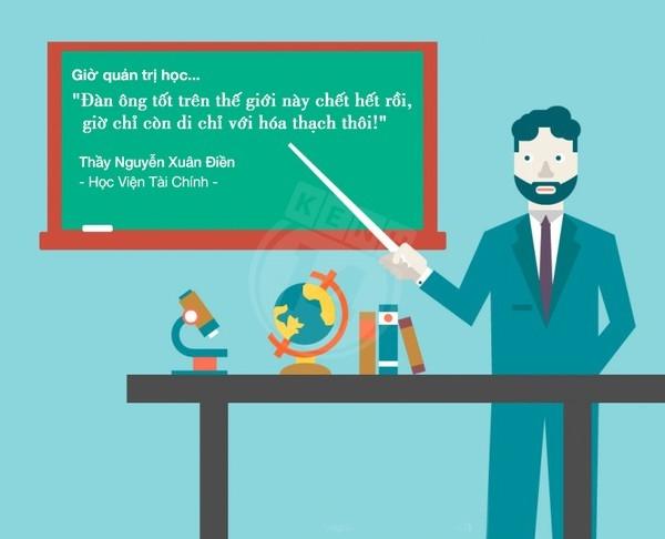 Những câu nói bá đạo của thầy cô