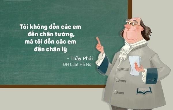 Lời của thầy là chân lý đó nha