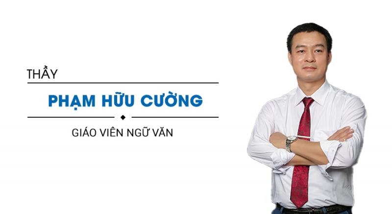 Thầy Phạm Hữu Cường (dạy Văn)