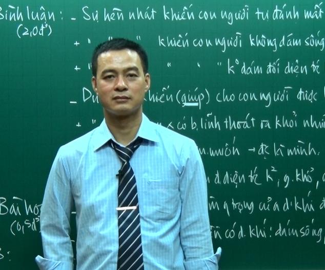Thầy Phạm Hữu Cường – Giảng viên đại học Sư phạm Hà Nội