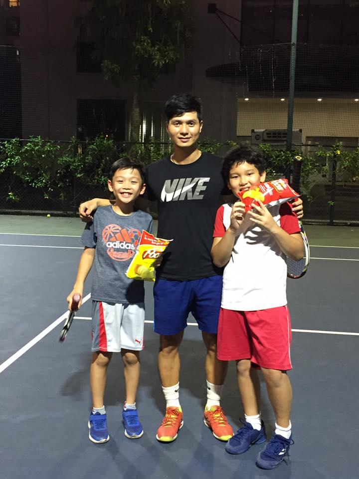 Thầy Trần Anh Tuấn – HLV tennis